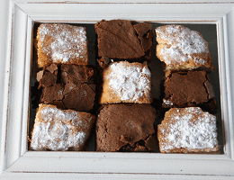 Blondies en brownies - sandrakookt.nl