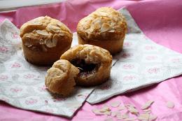 Bos bes muffin met amandelen - sandrakookt.nl
