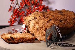 Kerstbrood, spelt - sandrakookt.nl