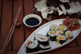 Sushi - sandrakookt.nl